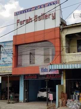 "Dijual Ruko 2 1/2 tingkat ""Farah Gallery"" di Jl. Sunggal 56 Medan"