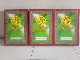 Kalamah kaset Murotal Al Quran 30 Juz dan terjemahannya