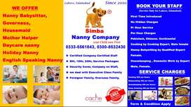Nanny Baby Sitter Service Available