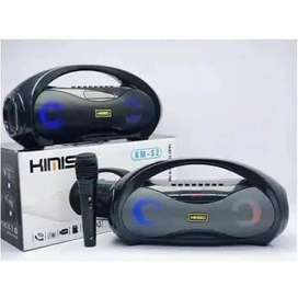 Speaker Bluetooth KIMISO KM-S2 Full Bass OriginalHarga sudah sepaket s