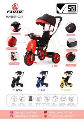Sepeda stoller pasific 2251 kursi dpt diputar