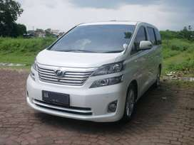 Toyota Vellfire 2.4 At 2010, bs kredit