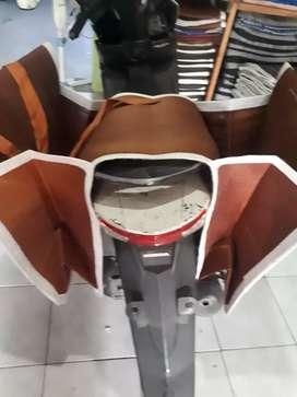Kantong motor kan dek tas kurir obrok tas samping motor tas kurirde bi