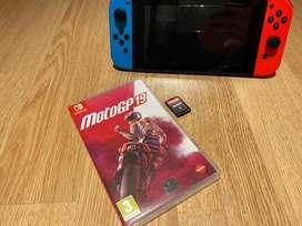 Nintendo switch game motogp19