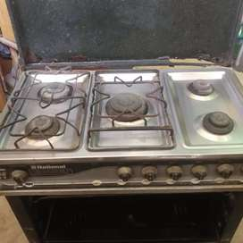 National 5 burner oven