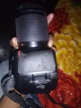 Nikon D 32  dual lance