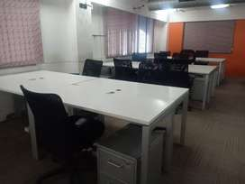 9500 sqft 140 work station space available in prime location