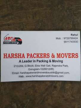 Harsha peckers and movers all India