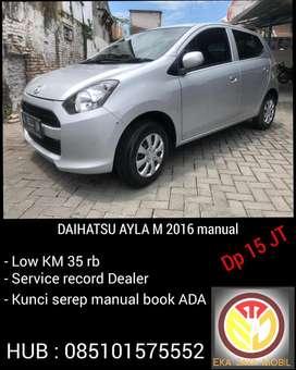 [ Dp 15 JT ] Daihatsu AYLA M 2016 manual