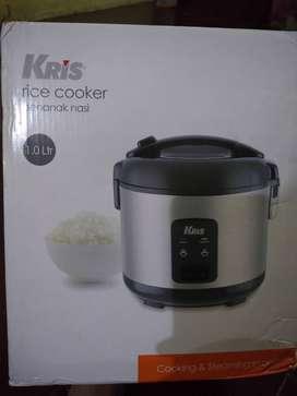 Rice cooker merk Kris Deluxe 1 liter Baru
