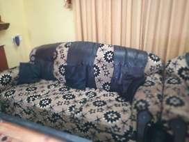 sofa set (3+1+1) 4 seater sofa