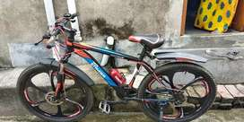 Good condition 2019 tata cycle with gears and disc break system