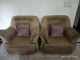 Single seater sofa set of two