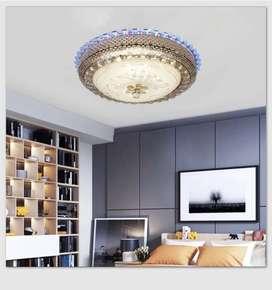 Lampu plavon kristal led minimalis dekorasi ruang keluarga 807155 ID35