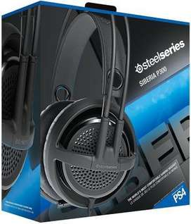 SteelSeries Siberia P300 Wired Headset  (Black, On the Ear)