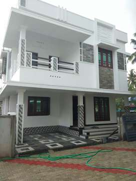 3.bhk 1500 sqft new build house at edapally varapuzha town near