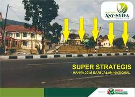 Kavling Cicalingka Samping Jalan Baypas sangat strategis cukup 150 JT