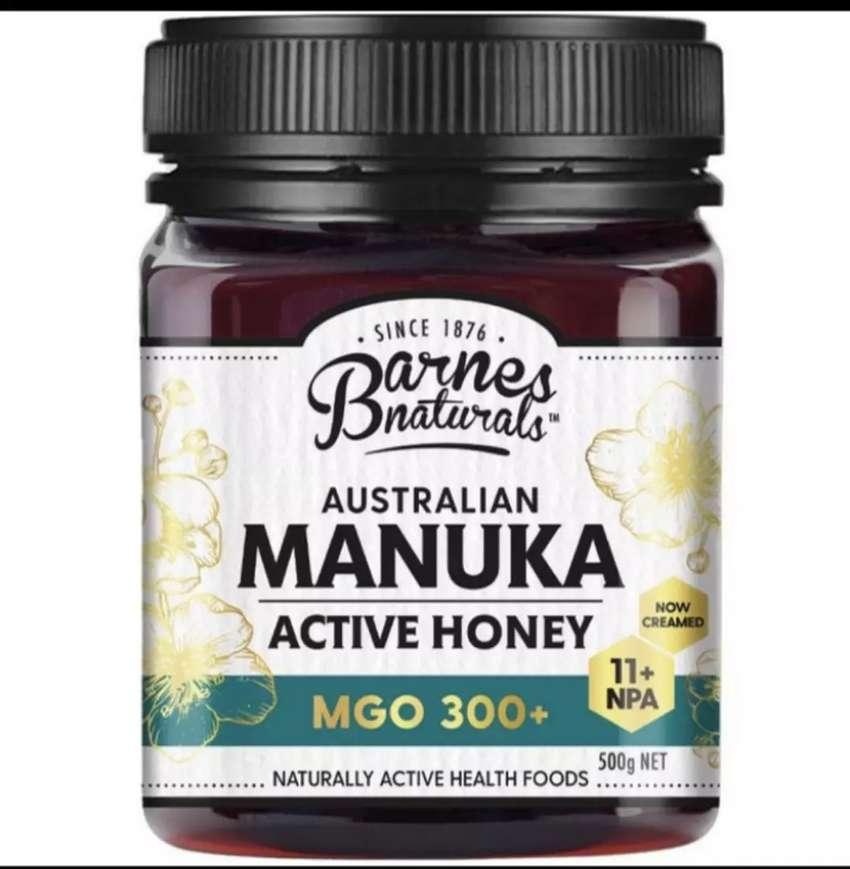 Manuka Honey Barnes Natural Australian 500g MGO 300 + (NPA 11+)