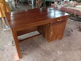 (spesialis meja murah) meja kantor warna kayu istimewa