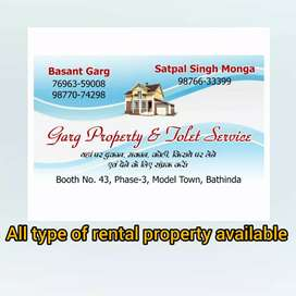 Independent kothtguest house rental property all locationsbathinda