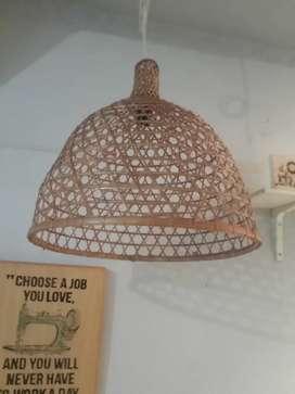 Hiasan lampu unik
