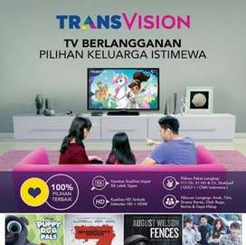 Parabola mini Transvision Decoder samsung HD