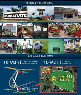 KAVLING murah daru estate SHM -PBB ready