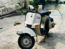 Chetak scoter 2001 model original colour