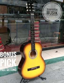Gitar Akustik Bulat Murah Berkualitas
