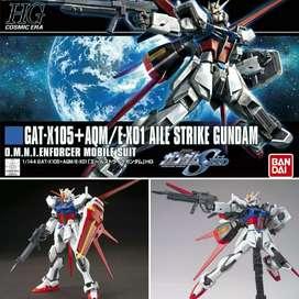 Bandai HG Aile Strike Gundam