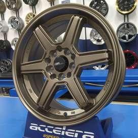 Velg mobil expander ring 16 HSR MINAS R16 pcd 5x100 dan 5x114,3 Bronze