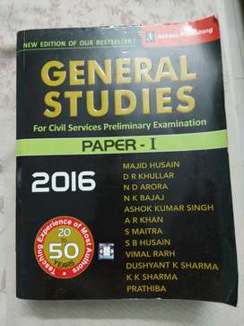 UPSC civil services General studies Paper 1