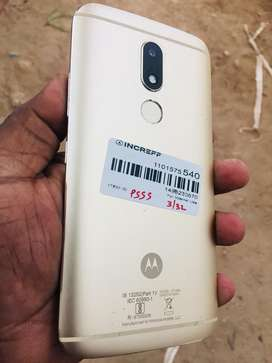 Moto m good contition phone and charger only