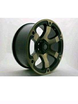 velg mobil Hunting HSR racing ring 20 hole 6 buat fortuner pajero dll