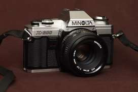 Minolta x300 kamera analog kamera jadul kamera film