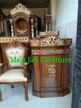 Mimbar masjid R64 lois talk wood