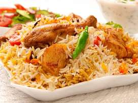 Need a chef for Biryani and pulao Restaurant