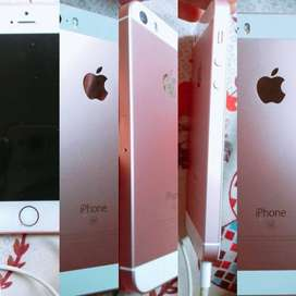 IPhone SE rose pink clr..15month old 18/10/18purchased .