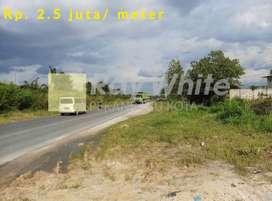 Tanah Rp. 2.5 juta/meter di Kubang Raya, Kec. Tambang - Kampar