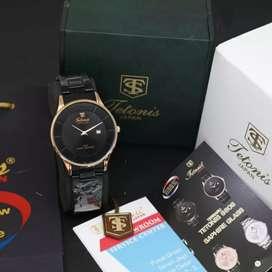 Jam tangan casualtiva tetonis pria original
