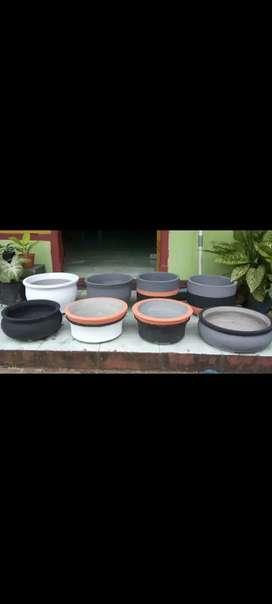 Pot untuk tanaman hias dan Bonsai