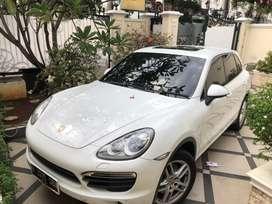 Porsche cayenne 3.6 v6 2013 putih on brown.atpm bisa tt lexus lx570