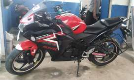 Honda CBR 150RR 3years and well maintained.
