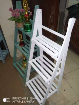 Wooden planters / wooden ladders