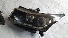 Cruze head light headlamp used