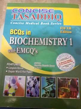 BCQs in biochemistry with emqs -concise medical book series