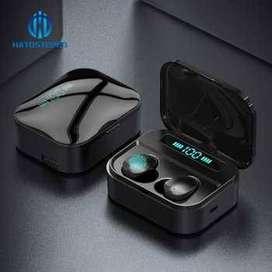 Robotsky TWS Earphone True Bluetooth 5.0 Powerbank Charging Dock - X7