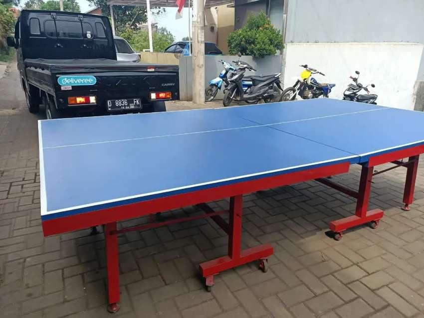 Tenis Meja / Meja Pingpong MDF dan Multiplax List Besi kokoh dan mewah 0