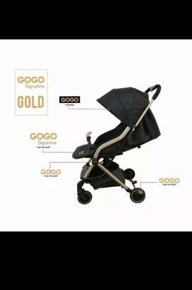 Elle Gogo Signature Stroller -GOLD-