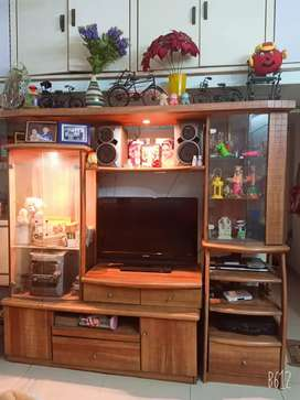 Large Cupboard for keeping show pieces  brand juari age five years old